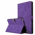 Retro-Frosted-PU-Leather-Case-Cover-Wallet-Cards-Holder-with-Stand-Function-for-2017-97-IPAD-Purple