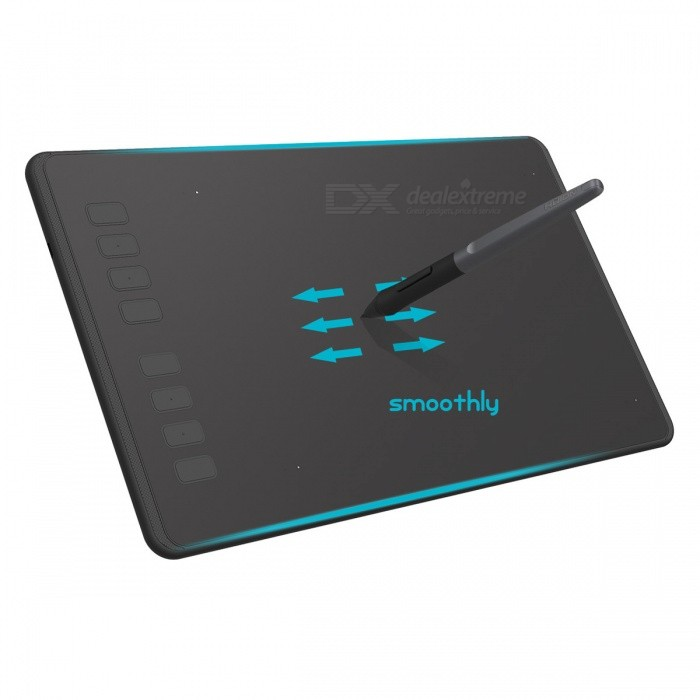HUION H950P Slim Compact 8192/5080 Drawing Graphics Tablet - Black