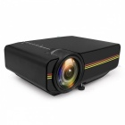 YG410-Mini-Portable-1080P-HD-LED-Projector-for-IPHONE-Android-Smartphone-Tablet-PC-Black-(US-Plug)