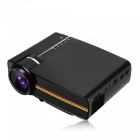 YG410 Mini Portable 1080P HD LED Projector for IPHONE, Android Smartphone, Tablet PC - Black (US Plug)