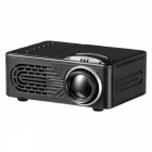 RD-814-Mini-Portable-1080P-HD-LED-Projector-for-Home-Theater-Travel-Black-(EU-Plug)