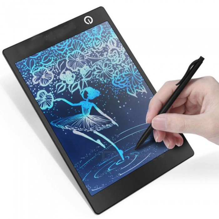 9.7 Inches Color LCD Writing Pad Digital Drawing Tablet, Electronic Graphic Board with Stylus
