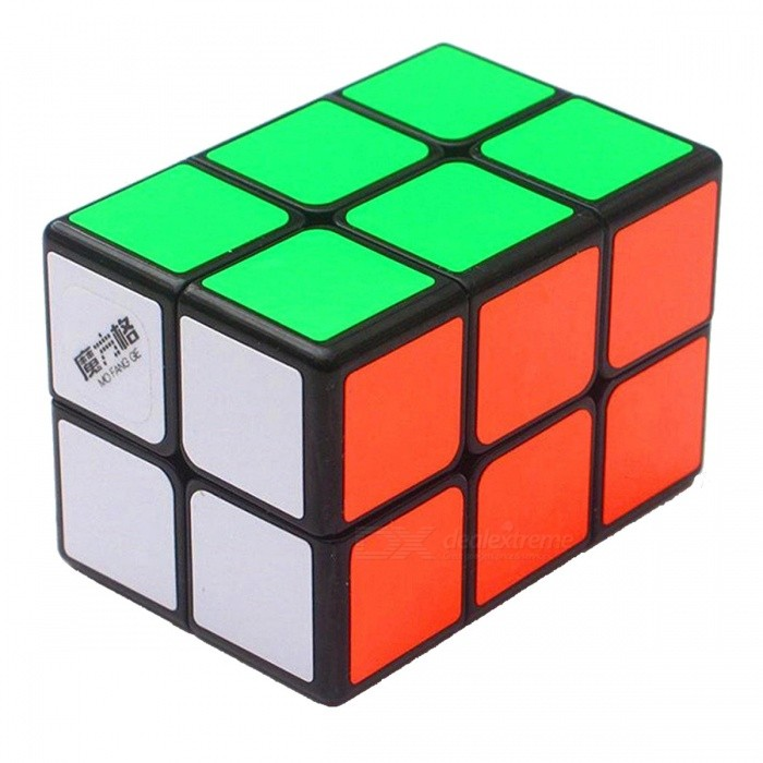 MoFangGe 44x44x60mm 2x2x3 Smooth Speed Magic Cube Puzzles Toy for Kids, Adults