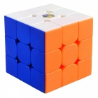 ZHISHENG Little Magic Professional 55.5mm 3x3x3 Speed Magic Cube Puzzle Educational Toy for Kids Adults - Multicolor