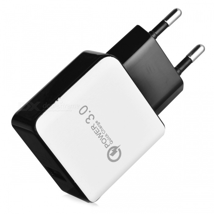 BSTUO 5V 3A USB QC3.0 Fast Quick Charge AC Charger (EU Plug)