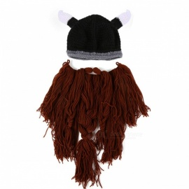 f5d3a20f5d0 Men s Winter Hat Fashion Knitted Black Hats Fall Hat Thick and Warm ...
