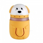 KELIMA-Dog-Shape-Home-Desktop-Car-Humidifier-Yellow