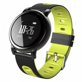 B8-096-Round-Screen-Smart-Bracelet-with-Blood-Pressure-Oxygen-Heart-Rate-Monitor-Green
