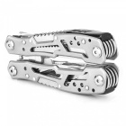 PA28 Latest Multi-Purpose Small Lightweight Outdoor Emergency Multi Tool Pliers - Silver