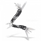 PA28 Latest Multi-Purpose Small Lightweight Outdoor Emergency Multi Tool Pliers - Black