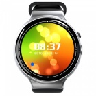 I4 AIR Ultra Thin SIM HD 2.0MP Smart Watch with Pedometer, Heart Rate Monitor, Recorder - Silver Grey
