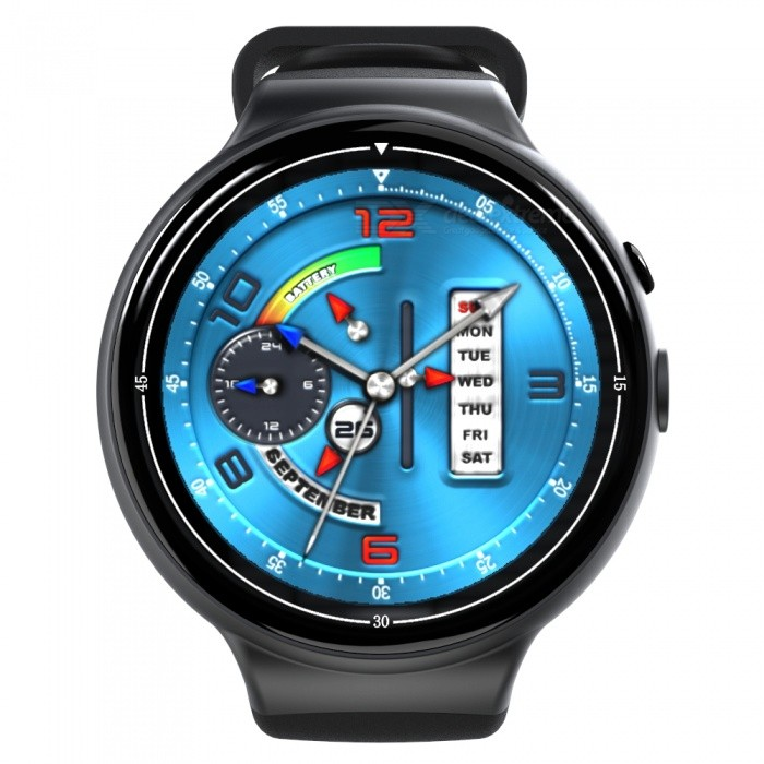 I4 AIR Ultra Thin SIM HD 2.0MP Smart Watch with Pedometer, Heart Rate Monitor, Recorder - BlackSmart Watches<br>Form  ColorBlackQuantity1 DX.PCM.Model.AttributeModel.UnitMaterialABSShade Of ColorBlackCPU ProcessorMTK6580, 1.3GHZ Quad-coreScreen Size1.4 DX.PCM.Model.AttributeModel.UnitScreen Resolution400 * 400Touch Screen TypeYesNetwork Type2G,3GCellularWCDMA,GSMSIM Card TypeNano SIMBluetooth VersionBluetooth V4.0Compatible OSAndroid 5.1LanguageSupport more than 84 kind of languages like Simplified Chinese, Traditional Chinese, English, French, Russian, German, Dutch, Portuguese, Arabic, Persian, Brazilian, Malaysia, Italian, Turkish, Thai, Vietnamese, Indonesian , Indian, Greek, Spanish, Czech etcWristband Length22 DX.PCM.Model.AttributeModel.UnitWater-proofIP65Battery ModeNon-removableBattery TypeLi-polymer batteryBattery Capacity350 DX.PCM.Model.AttributeModel.UnitStandby Time72 DX.PCM.Model.AttributeModel.UnitPacking List1 x I4 AIR Smart Watch1 x USB Cable1 x Charging dock1 x User Manual1 x Screwdriver<br>