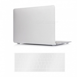 "Dayspirit PC Matte Case + Keyboard Cover for MACBOOK 12"" A1534 - White"