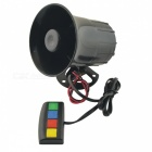 CARKING-DC-12V-30W-105dB-4-Sounds-Siren-Speaker-Electric-Horn-Trumpet-for-Car-Black