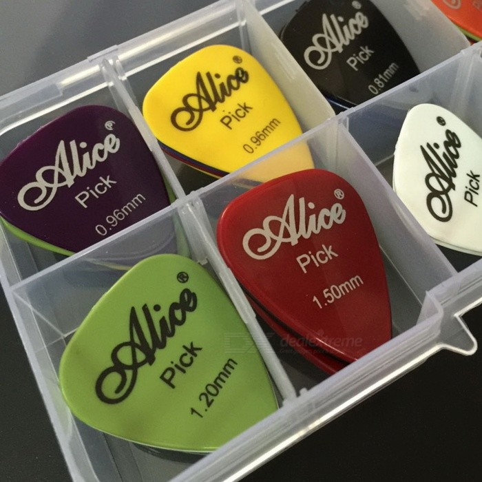 Other Music Instruments Plastic Guitar Picks Set For Acoustic
