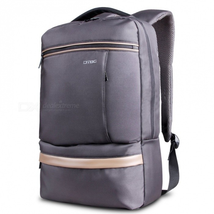 DTBG D8053W Nylon Ultra Lightweight Water Resistant 15.6 Travel Business Backpack, College Backpack School Bag - GreyBags and Pouches<br>Form  ColorGreyModelD8053WQuantity1 DX.PCM.Model.AttributeModel.UnitShade Of ColorGrayMaterialNylonCompatible Size15.6 inchTypeBackpacksPacking List1 x Backpack<br>