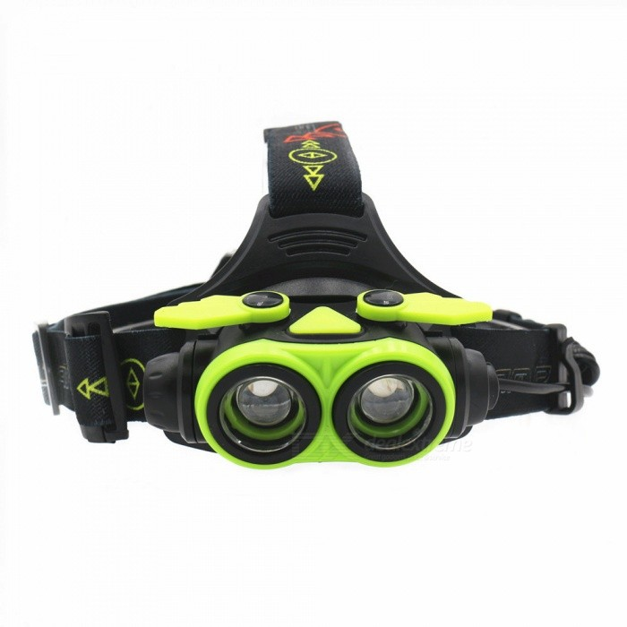 ZHAOYAO-USB-Rechargeable-Long-Range-Super-Bright-4-Mode-2-LED-L2-Headlight-for-Night-Riding