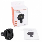 KELIMA BT36 Dual USB Car Charger, FM Transmitter, MP3 Player Bluetooth Hands-Free Kit - Black