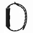 "S2 IP67 wasserdicht 0,96 ""Touchscreen Bluetooth V4.0 Smart Fitness Armband Armband - Schwarz"