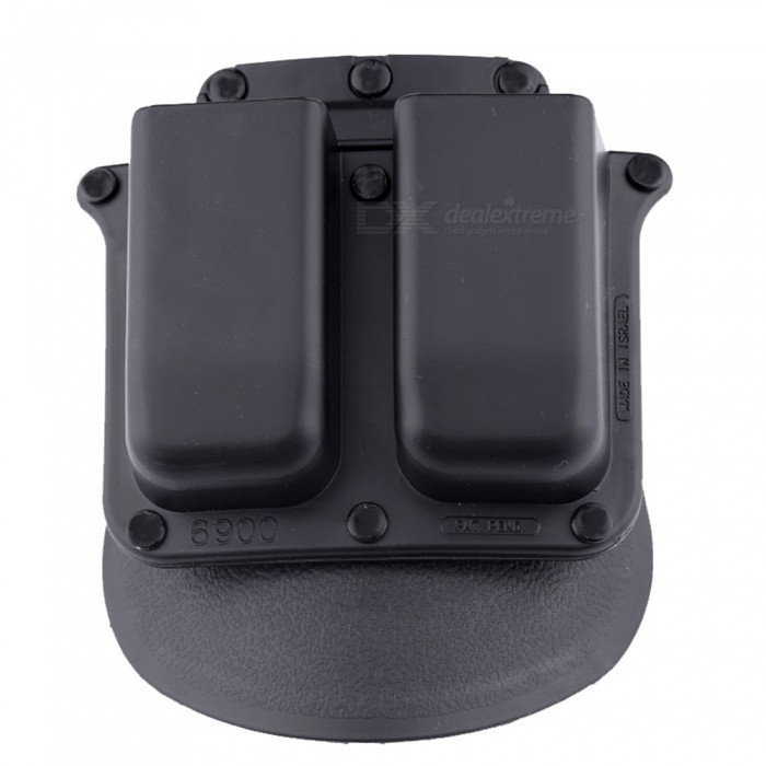 Accu New 6900pmp Double Magazine Pouch Holster For Glock Double