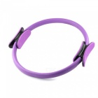 P-TOP Jóga Pilates Ring Magic Circle, Svaly Body Cvičení Jóga Fitness Tool-purpur