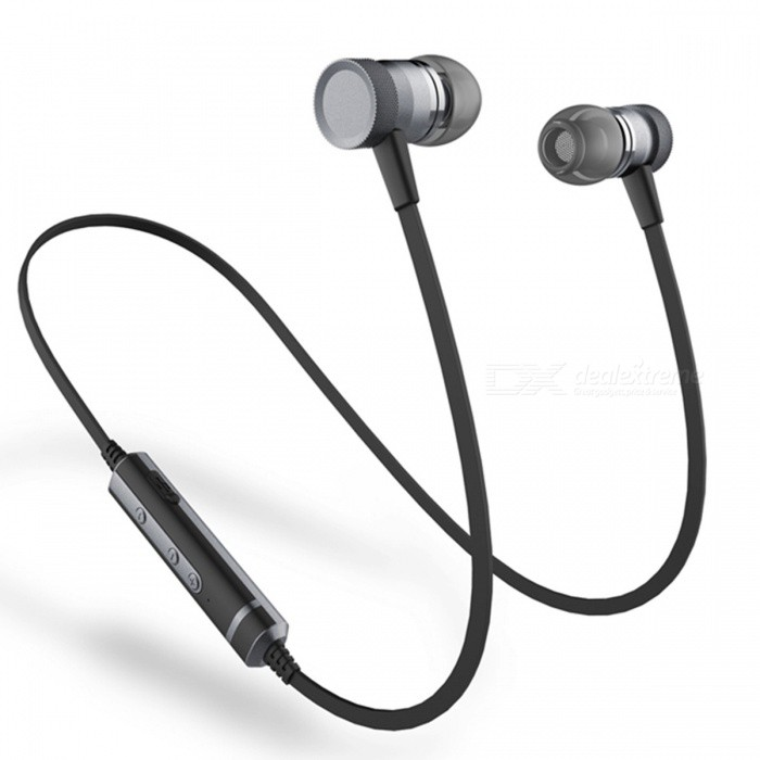 Sound Intone H6 Magnetic Adsorption Bluetooth Earphone with Microphone for Running Sports - BlackHeadphones<br>Form  ColorBlackBrandOthers,Sound IntoneModelH6MaterialPlasticQuantity1 DX.PCM.Model.AttributeModel.UnitConnectionBluetoothBluetooth VersionBluetooth V4.1Operating Range10MConnects Two Phones SimultaneouslyYesHeadphone StyleBilateral,Earbud,In-EarWaterproof LevelOthers,SweatproofApplicable ProductsUniversalHeadphone FeaturesPhone Control,Magnetic Adsorption,Noise-Canceling,Volume Control,With Microphone,Lightweight,Portable,For Sports &amp; ExerciseSupport Memory CardNoSupport Apt-XYesSensitivity98±3dBFrequency Response20-20000HzImpedance32 DX.PCM.Model.AttributeModel.UnitBattery TypeLi-polymer batteryBuilt-in Battery Capacity 60 DX.PCM.Model.AttributeModel.UnitStandby Time110 DX.PCM.Model.AttributeModel.UnitMusic Play Time6 DX.PCM.Model.AttributeModel.UnitPacking List1 x Earphone1 x USB cable1 x Clip2 x Ear hooks3 Pairs x Ear tips (S, M, L)<br>