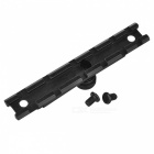 Aluminum Alloy Gun Rail Mount for M16 - Black (22MM)
