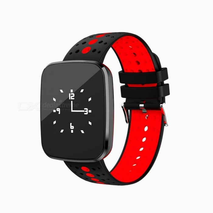 V6 Fashion Bluetooth IP67 Waterproof Smart Wrist Watch Bracelet with Heart Rate Monitoring