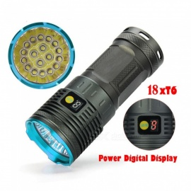 ESAMACT T6 18 the lamp hunting Small steel gun flashlights Bright flashlight