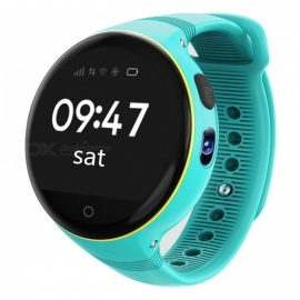 ZGPAX S668 Kid's Wi-Fi GPS Smart Watch Phone SOS Tracker - Blue