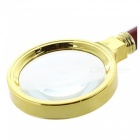 Portable Handheld 5X Magnifier 60mm for Better Reading
