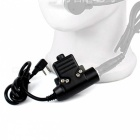 U94PTT Cable Plug Z Tactical Bowman Elite II HD01 02 Kenwood 2 for Walkie Talkie C2112A Headphones