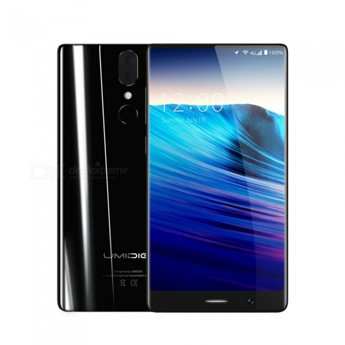 "UMIDIGI Crystal 2GB 5.5"" Octa-core 4G Phone with 2GB RAM 16GB ROM - Black"