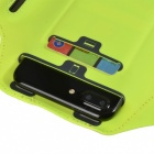 Outdoor Sports Water-Resistant Lycra Armband Case for IPHONE 7 PLUS / 6 PLUS / 6S PLUS / 8 PLUS / IPHONE X - Purple + Yellow