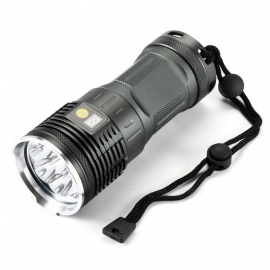 ESAMACT  T6 8 the lamp hunting Small steel gun flashlights Bright flashlight
