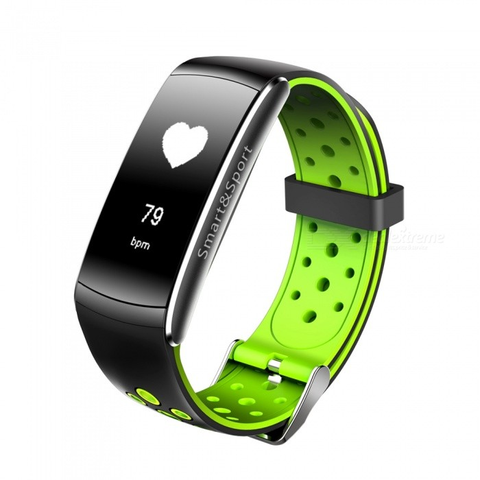Z11 Sports Bluetooth Smart Bracelet Waterproof Wristband with Call Reminds, Heart Rate Monitor - GreenSmart Bracelets<br>Form  ColorGreen + Black + Multi-ColoredQuantity1 DX.PCM.Model.AttributeModel.UnitMaterialABSShade Of ColorGreenWater-proofIP68Bluetooth VersionBluetooth V4.0Touch Screen TypeYesCompatible OSSupport Android 4.4, IOS 8.0 and above systemsBattery Capacity90 DX.PCM.Model.AttributeModel.UnitBattery TypeLi-polymer batteryStandby Time5-7 DX.PCM.Model.AttributeModel.UnitPacking List1 x Smart Watch1 x Charging Cable 1 x User Manual<br>