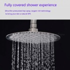 ZHAOYAO Ultra-thin Premium Stainless Steel Super Pressure Shower Head for Bathroom