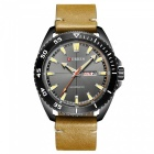 CURREN 8272 Men's Water Resistant Quartz Wrist Watch with Date Display - Brown