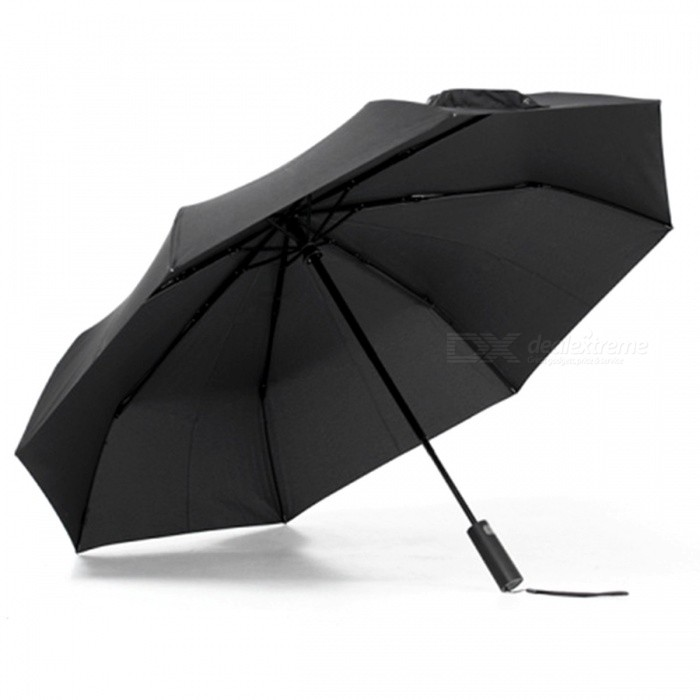 Xiaomi Mijia Automatic Folding Sunny Rainy Umbrella -black for sale in Bitcoin, Litecoin, Ethereum, Bitcoin Cash with the best price and Free Shipping on Gipsybee.com