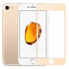 Naxtop Full Screen Protector Tempered Glass for IPHONE 8 - Gold