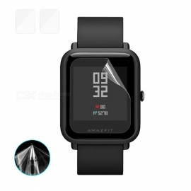 Hat-Prince TPU Soft Screen Protector for Huami AMAZFIT Smart Watch (2PCS)