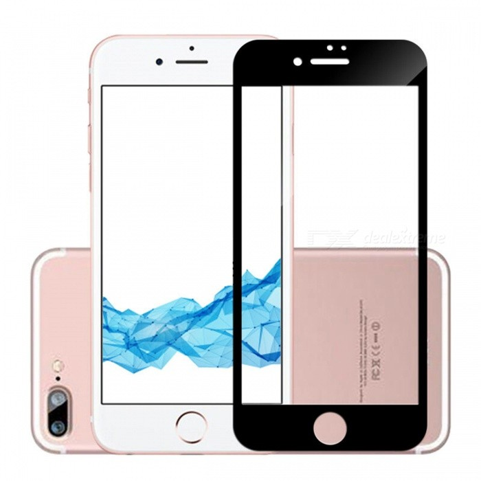 buy online c9546 b6ec7 Naxtop Full Screen Protector Tempered Glass for IPHONE 8 PLUS ...