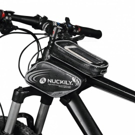 NUCKILY-PL05-Waterproof-Touch-Screen-Bicycle-Saddle-Bag-for-Upper-Pipe