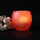 YouOKLight Mini Crystal Himalayan Natural Night Lamp Candle Holder No Includes Bulb)