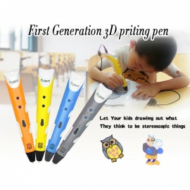 BAPASCO-MR-RP-100A-Magic-3D-Printer-Drawing-Pen-for-Kids-Birthday-Present-Yellow