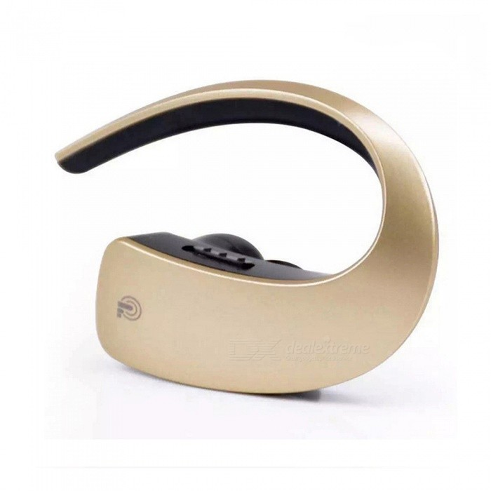 Q2 Touch Stereo Bluetooth Earhook Style Earphone Headset Headphone - GoldenHeadphones<br>Form  ColorGoldenBrandOthers,noModelQ2MaterialABSQuantity1 DX.PCM.Model.AttributeModel.UnitConnectionBluetoothBluetooth VersionBluetooth V4.1Bluetooth Chipcrs8615Operating Range10MConnects Two Phones SimultaneouslyYesHeadphone StyleUnilateralWaterproof LevelIPX2Applicable ProductsUniversalHeadphone FeaturesLong Time Standby,Noise-Canceling,Lightweight,Portable,For Sports &amp; ExerciseSupport Memory CardNoSupport Apt-XNoSensitivity101.5dB±3dBFrequency Response20-2000khzImpedance32 DX.PCM.Model.AttributeModel.UnitBattery TypeLi-ion batteryBuilt-in Battery Capacity 55 DX.PCM.Model.AttributeModel.UnitStandby Time130 DX.PCM.Model.AttributeModel.UnitTalk Time5-7 DX.PCM.Model.AttributeModel.UnitMusic Play Time4.5-6.5 DX.PCM.Model.AttributeModel.UnitPower AdapterUSBPower Supply3.7VCertificationCEPacking List1 x Bluetooth Headset 1 x USB Cable1 x Pair of Earbud Covers1 x User Manual<br>