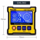 Portable High Precision Dual-Axis Level Box Digital Protractor