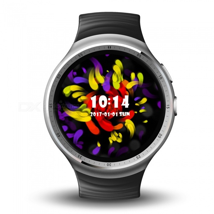 LEMFO LES1 Waterproof 1.39 3G Smartwatch Phone with 1GB RAM, 16GB ROM - SilverSmart Watches<br>Form  ColorSilver + Light GreyModelLES1Quantity1 DX.PCM.Model.AttributeModel.UnitShade Of ColorSilverCPU ProcessorMTK6580, 1.3GHz, quad-coreScreen Size1.39 DX.PCM.Model.AttributeModel.UnitScreen Resolution400*400Touch Screen TypeYesNetwork Type2G,3GCellularWCDMA,CDMA2000,GSMSIM Card TypeNano SIMBluetooth VersionBluetooth V4.1Operating SystemAndroid 5.1Compatible OSIOS.9LanguageChinese, Japanese, Korean, English, French, Russian, German, Portuguese, Arabic,<br> Persian, Italian, Turkish, Thai, Vietnamese, Hindi, Indonesia, Spainish, Polish,  Hebrew, etc.Wristband Length26 DX.PCM.Model.AttributeModel.UnitWater-proofYesBattery ModeNon-removableBattery TypeLi-ion batteryBattery Capacity350 DX.PCM.Model.AttributeModel.UnitStandby Time7 DX.PCM.Model.AttributeModel.UnitCertificationCEOther FeaturesDDR3 1GB, EMMC:16GB  HD, 2.0MPPacking List1 x Smart Watch1 x USB Cable1 x Dock1 x User Manual1 x Screwdriver<br>