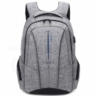 DTBG-D8231-173-Inch-Stylish-Travel-Business-Laptop-Backpack-with-USB-Charging-Port-Anti-theft-Pockets-for-Women-Men-Grey