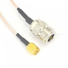 ZHAOYAO 0.98 Feet N Female to RP SMA Plug Female Pin RF Connector Pigtail Cable (15cm)